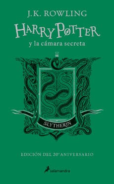 HARRY POTTER Y LA CAMARA SECRETA. SLYTHERIN (20 AÑOS DE MAGIA)
