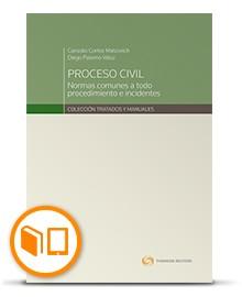 PROCESO CIVIL : NORMAS COMUNES A TODO PROCEDIMIENO E INCIDENTES (PAPEL+DIGITAL)